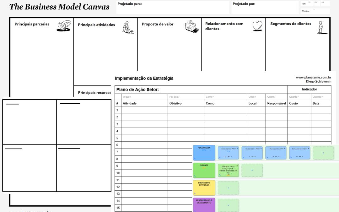 Planejamento Estratégico x Modelo de negócio