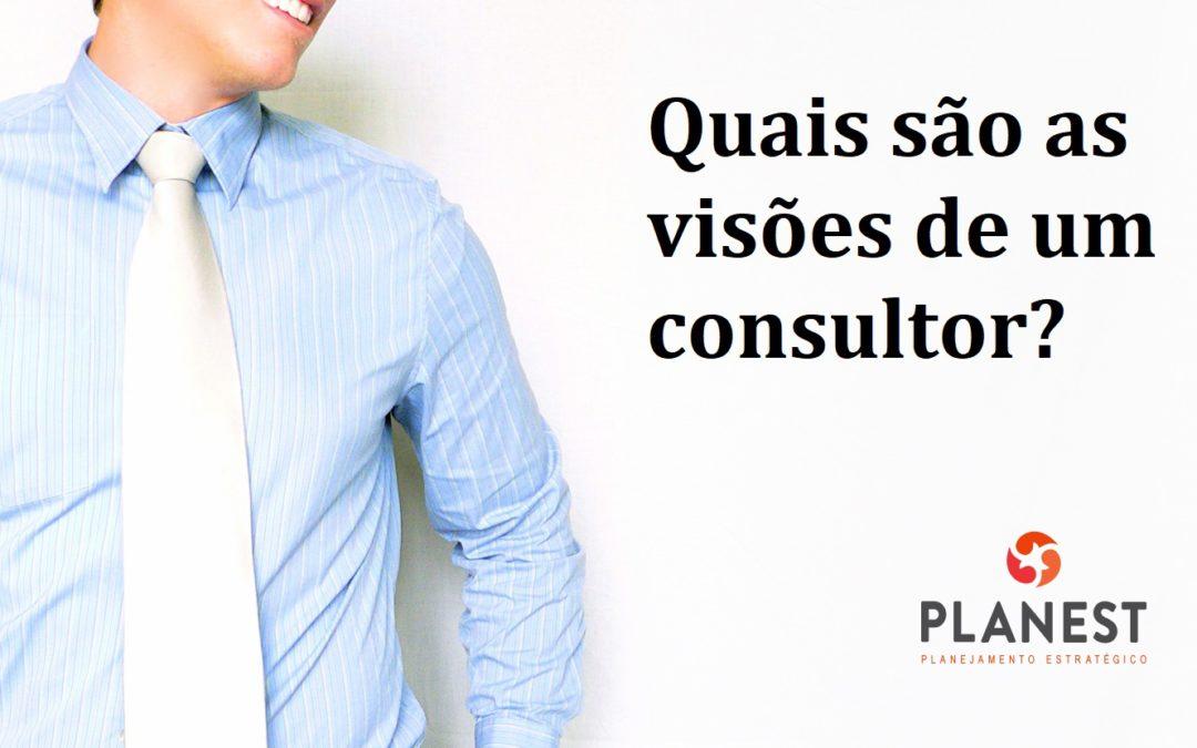 Quais as visões de um consultor?
